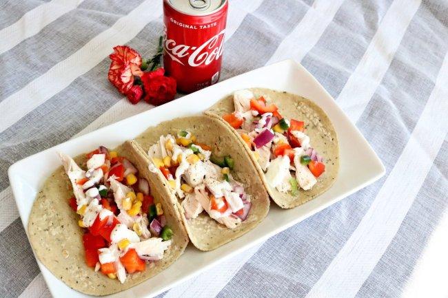 rotisserie chicken tacos
