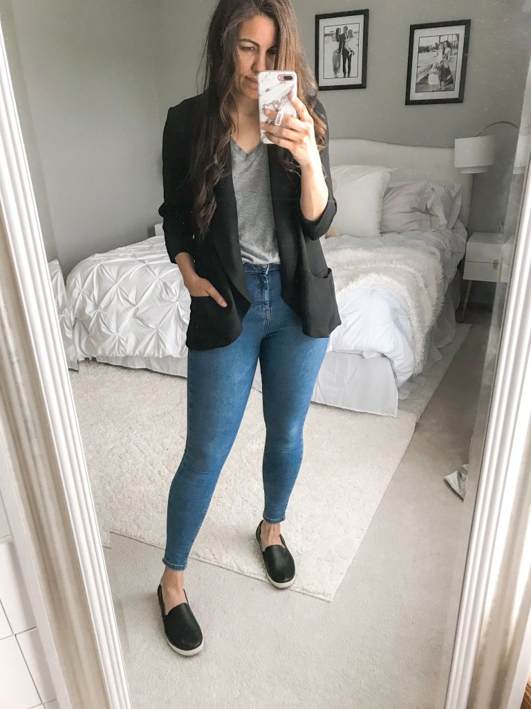 10 Ways To Style A Black Blazer