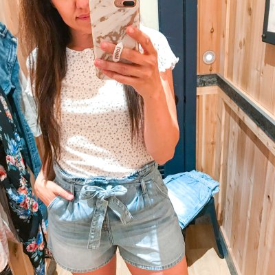 American Eagle Try-On + The BEST Denim Shorts