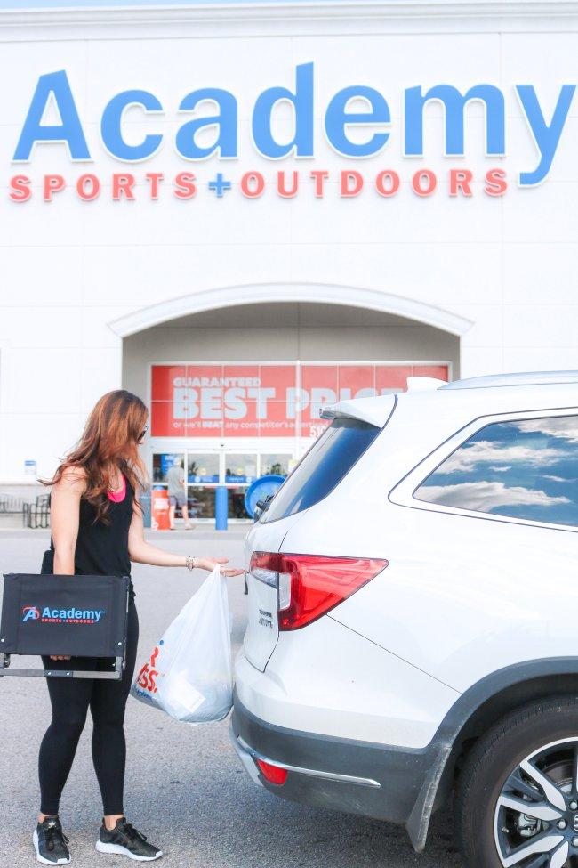 sports bag essentials