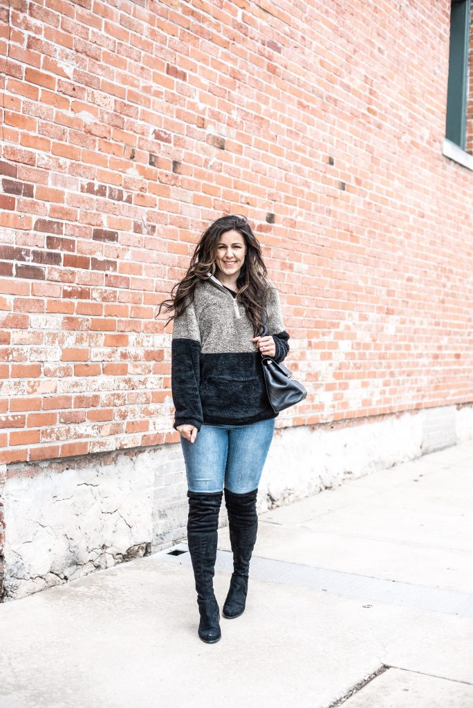 Fleece and Sherpa Pullovers Under $30