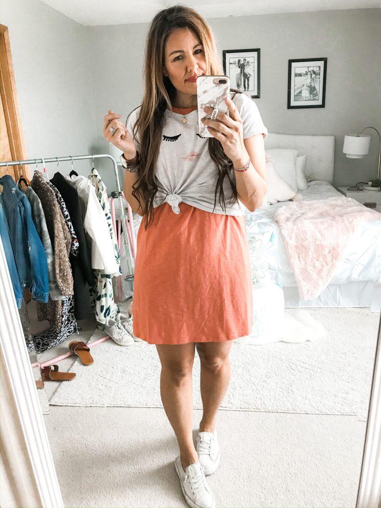 Eight T-Shirt Dress Outfits