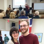 Ben and I led a Community Night at YWAM Minneapolis this year. He taught and I led worship.