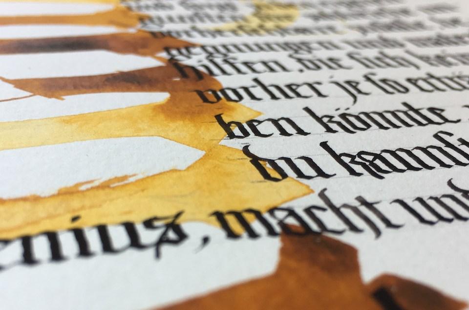 Vernetzungen – Handschrift und Textura