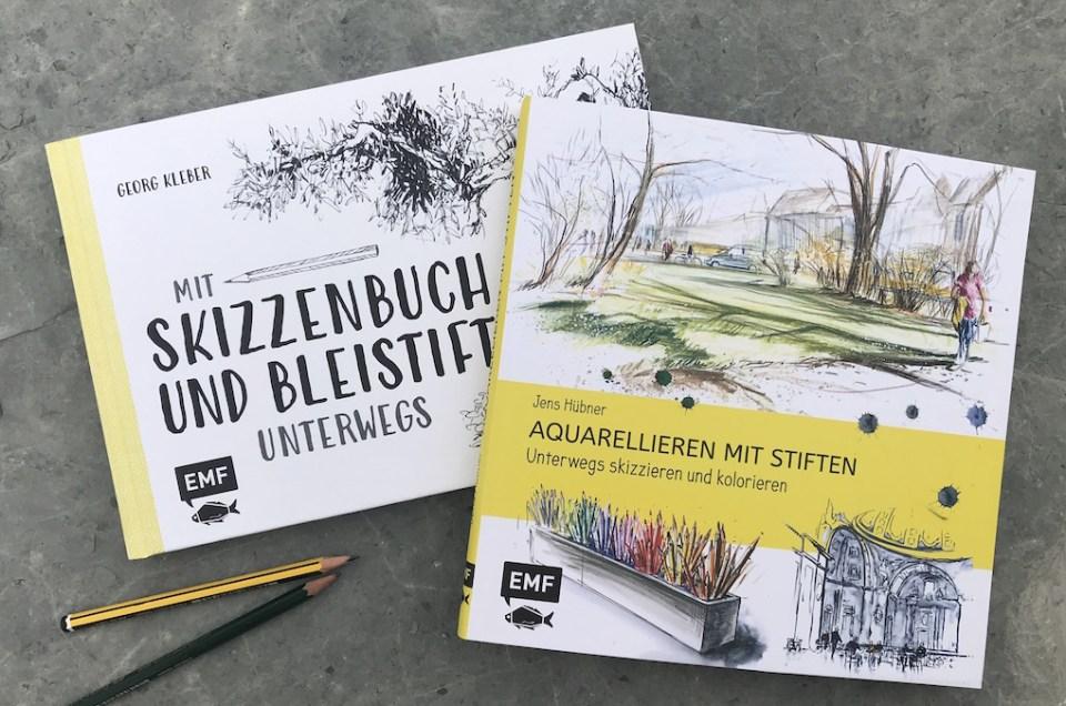 Buchbesprechung :: Unterwegs zeichnen