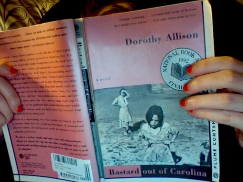 reading Bastard Out of Carolina by Dorothy Allison