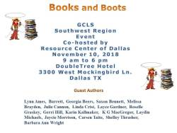 Books and Boots Details 2018
