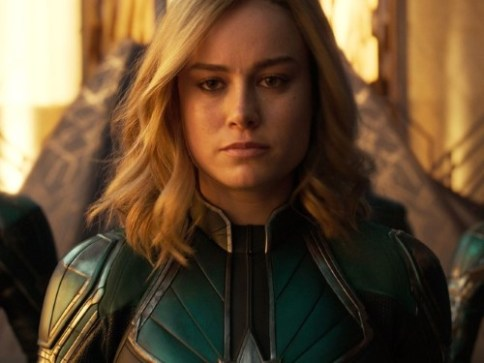 Movie still Carol Danvers Captain Marvel 2019 Marvel Studios