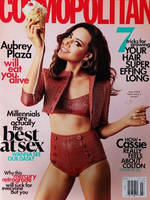 Cosmopolitan cover July 2019