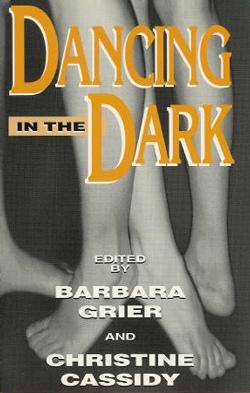 book cover dancing in the dark naiad press