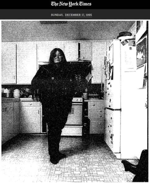 photograph Dorothy Allison New York Times 1995