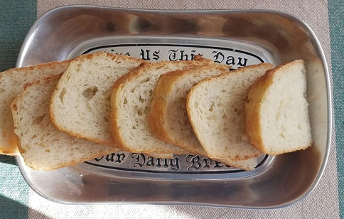 bread dish give us this day our daily bread