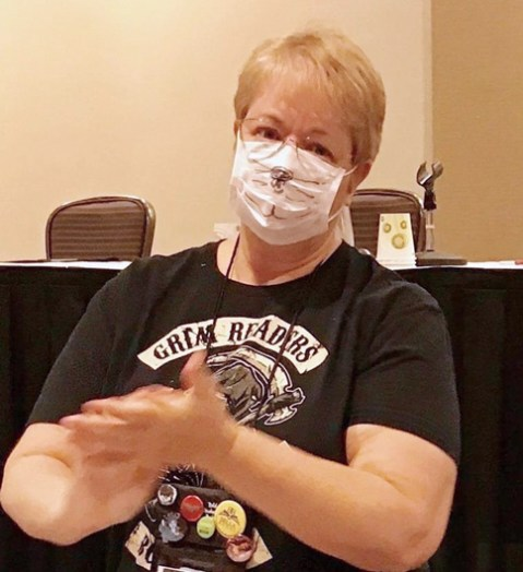 Karin Kallmaker surgical mask