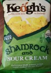 Keogh's Shamrock and Sour Cream crisps