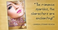 cover My Lady Lipstick banner enchanting characters