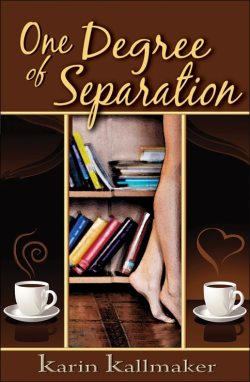 book cover one degree separation bookshelves librarian