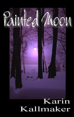 Cover image Dark trees against a purple sky with a white glowing moon