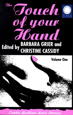 Cover Touch of Your Hand Vol 1 Silver Moon edition lesbian fiction