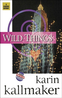 book cover lesbian romance wild things chicago skyline