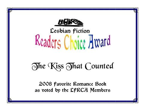 Kiss that Counted LFRCA Award