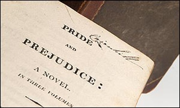 Frontispiece, Pride and Prejudice by Jane Austen