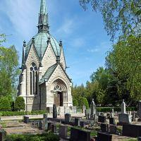 Juséliuksen mausoleumi: 11-vuotiaan Sigridin viimeinen leposija