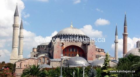 Aghia Sophia, Istanbul (Constantinople) - the spiritual center of Greek-Orthodoxy