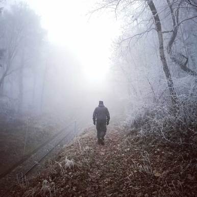 Trail trough the mist - pic by Ka L-O-K