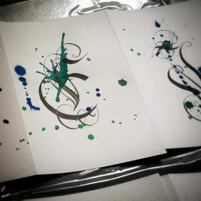 KalliKAos – Chaotic Calligraphy – Double Card