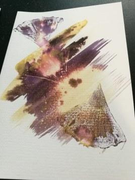 Détail du d'une carte du set de 5 cartes double | Folia Mystica