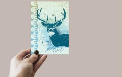 Carte de voeux – Ka L-O-K   Graphic Arts