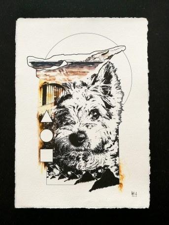 """Auftragsarbeit """"Bounty"""", ein Yorkshire Terrier"""