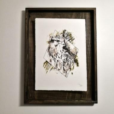 """Falco Cherrug"" – HelvEdition by Ka L-O-K | Edition Spéciale, impression sur papier vergé"
