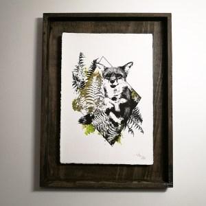 """Vulpes Vulpes"" – HelvEdition by Ka L-O-K | Edition Spéciale, impression sur papier vergé"