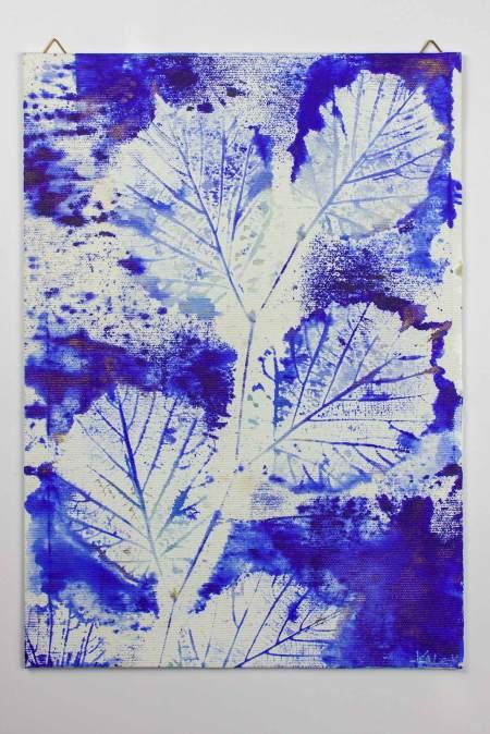 "Artwork on Canvas Board ""Folia Mystica"" - Beech | Ka L-O-K"