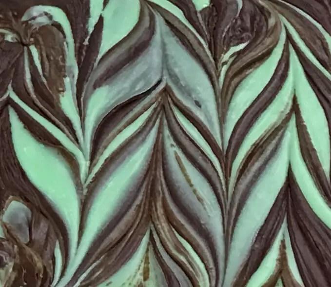 Chocolate Mint Swirl