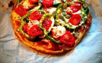 Kalorielet pizza