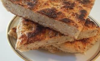 Nemt suppe-mad-brød bagt på panden