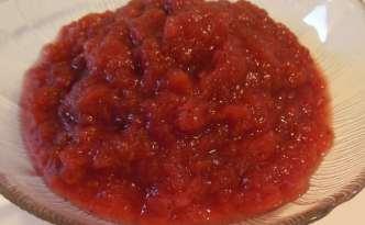 Æble-hindbærgrød