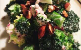 Sur/sød broccolisalat