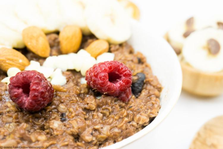 Schoko Porridge - Gesunde Kalorienarme Rezepte