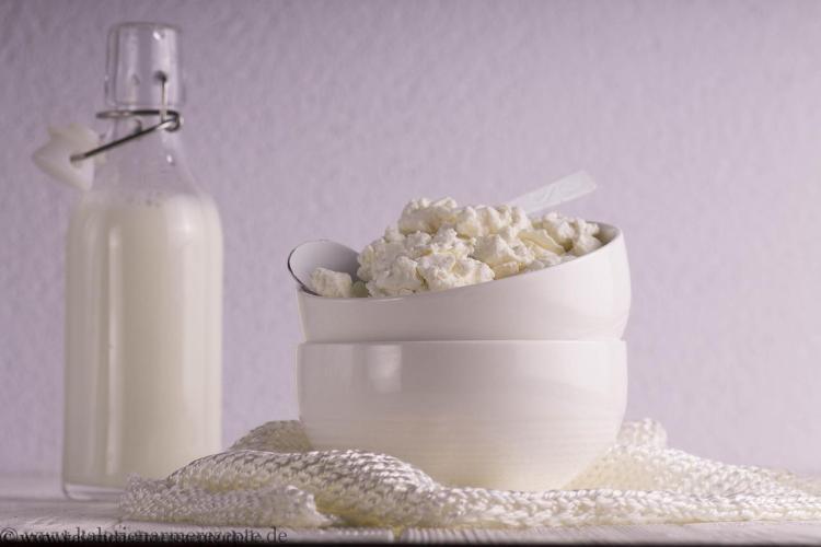 Hüttenkäse Gesunde kalorienarme Rezepte