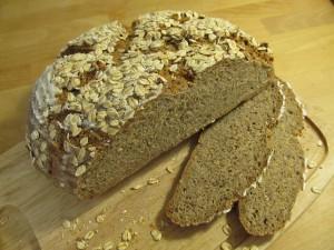 Kornprodukter, brød, fuldkorn