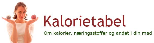 Kalorietabel