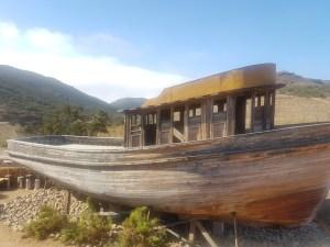 Cuatro cuatros - barco de madera - valle de guadalupe