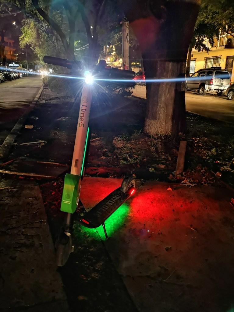 lime scooters en mexico cdmx