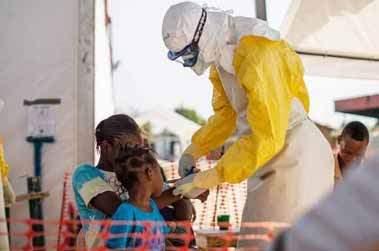 Dernier jour en Guinée pour une infirmière et réserviste sanitaire.