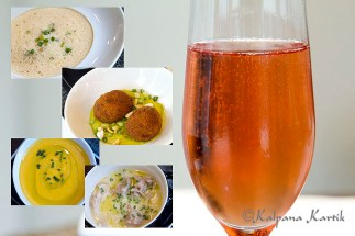 Special Sunday dishes from the Chef's kitchen