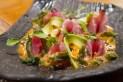 Tiradito Nikkei raw fish salad