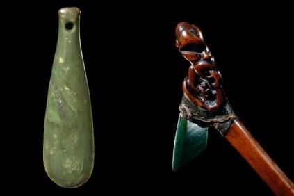 Mere weapon and ceremonial ax or Toki Poutangata
